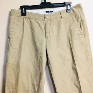 GAP LIGHT BROWN SLACKS IN WOMEN, 6